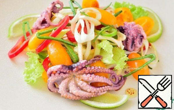 Salad with Octopus Recipe