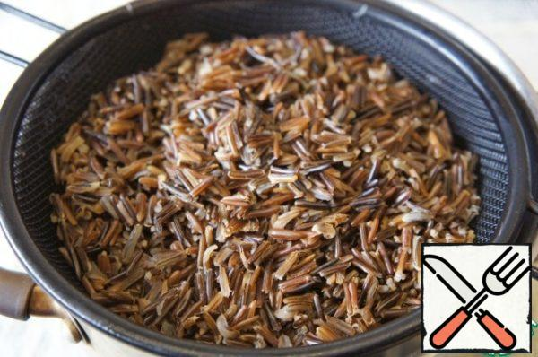 Rice fall asleep in 1 are unaware boiling water and cook until willingness (roughly 45 minutes). Drain the water, if left, and set aside.