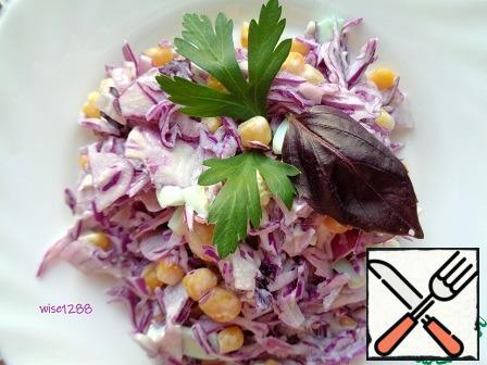 The salad mix. Bon appetit!!!