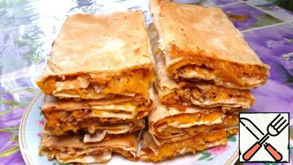 Pita bread is very tasty, crispy on the outside and soft inside. And I wish you a good appetite, good mood and all the best!