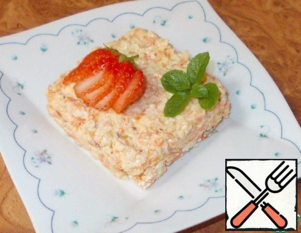 "Salad-Snack Vitamin ""Slender Mother"" Recipe"