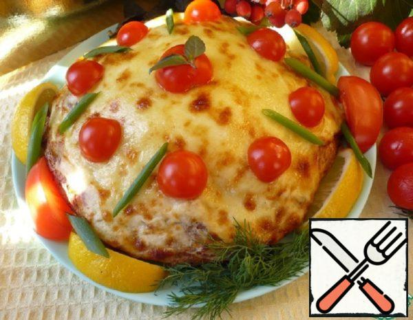 Pita Pie with Cheese Crust Recipe