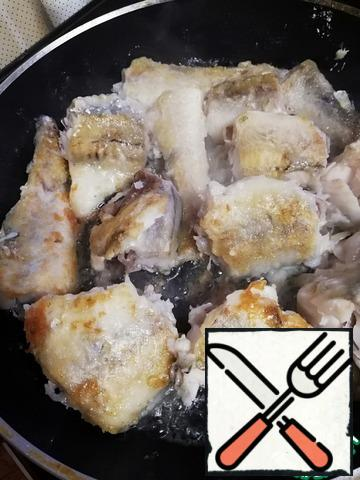 Fish In Pink Sauce Or Fisherman S Dinner Recipe With Pictures Step By Step Food Recipes Hub
