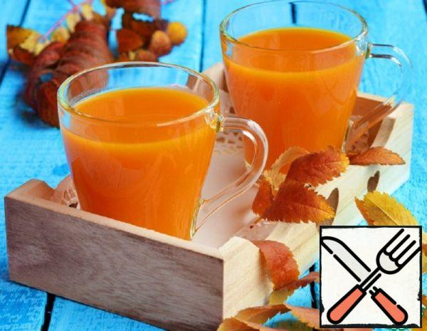 """Drink with Pulp """"Autumn Gold"""" Recipe"""