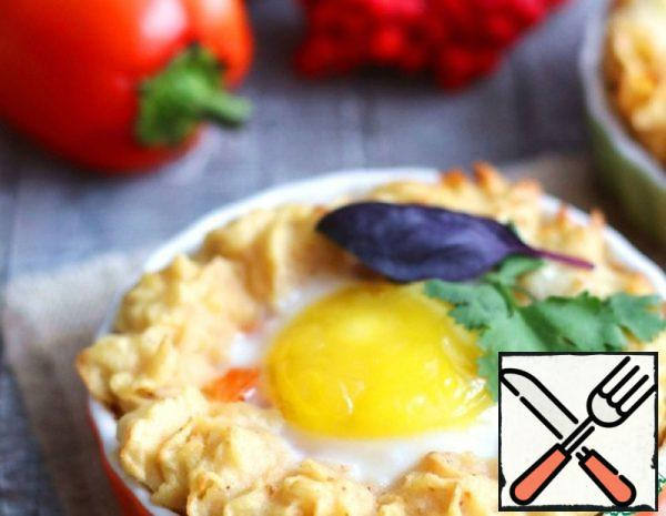 Casserole with Egg and Bell Pepper Recipe