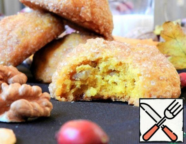 Pumpkin Cookies with Nuts and Raisins Recipe