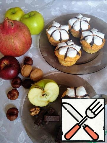 It's very simple! No special devices! And that is to decorate not complicated, but children as interesting! And tasty and gentle and you know exactly what is in them, unlike the store)))