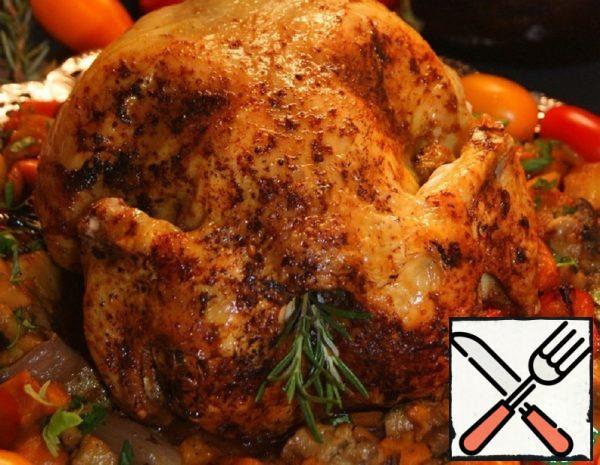 Chicken in Flight in Greek Recipe