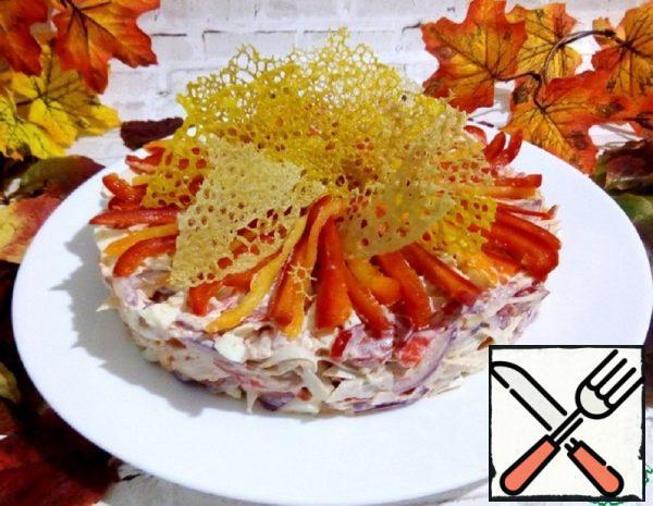 """Salad """"Crimson Autumn"""" Recipe"""