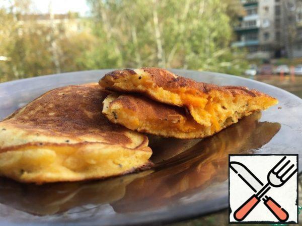 Pancakes are ready. Bon appetit!