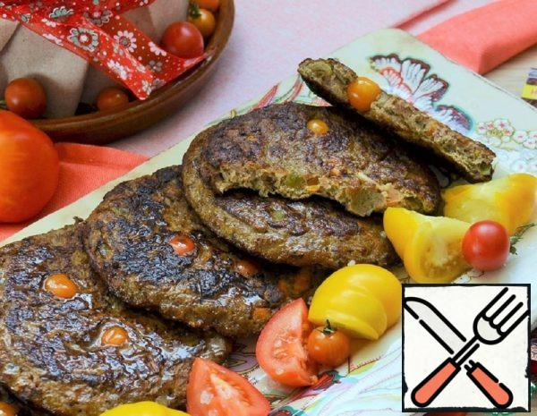 Liver Pancakes with Vegetables Recipe