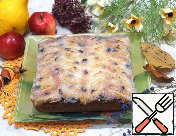 Pie with Apples and Raisins Recipe