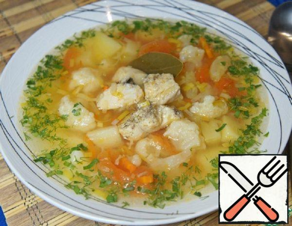 Vegetable Soup with Fish Recipe