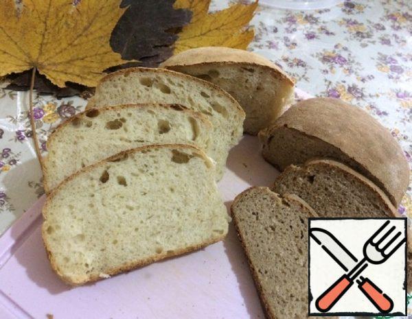 Yeast-Free Sourdough Bread Recipe