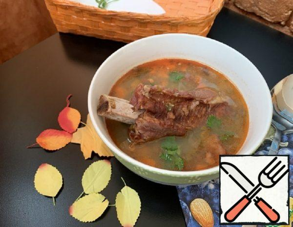 Spicy Soup with Lentils Recipe