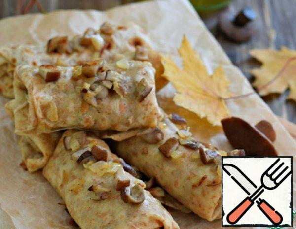Tortillas with Mushrooms and Onions Recipe
