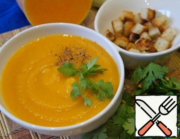 Greek Lean Pumpkin Soup-Puree Recipe