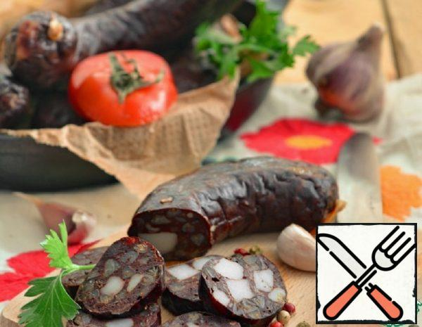 City Dweller's Blood Sausage Recipe