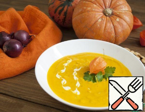Autumn Pumpkin Soup Recipe