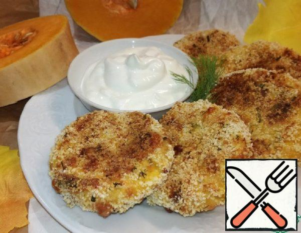 Pancakes with Cottage Cheese and Pumpkin Recipe