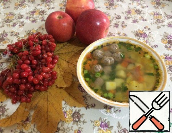 Soup with Meatballs Recipe