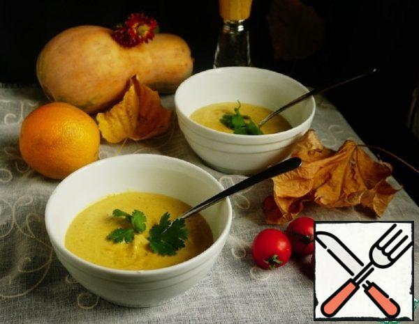 "Pumpkin Cream Soup ""Fondue"" Recipe"