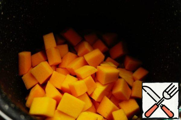 Add the pumpkin
