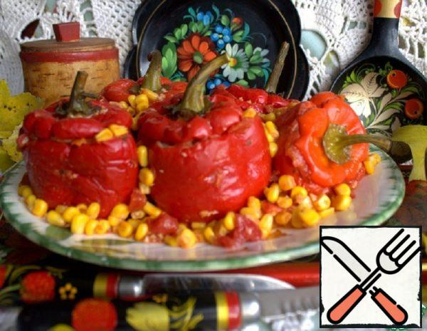 Peppers Stuffed with Meatballs Recipe