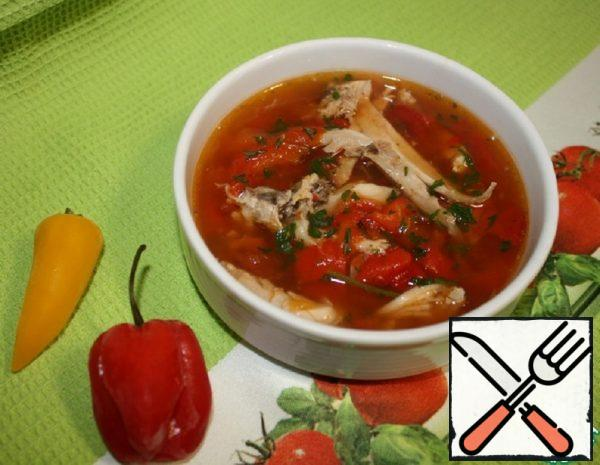 "Bulgarian Soup ""Vrachanska of Salamuri"" Recipe"