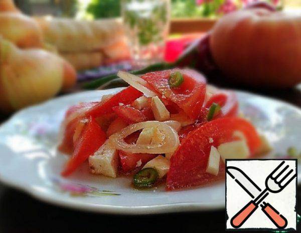 Salad with Tomatoes Recipe