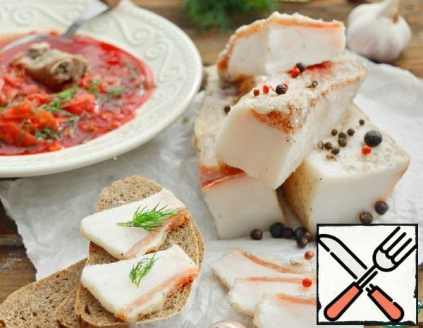 Lard Salt by the Dry Method Recipe