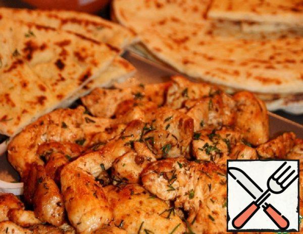 Quick Chicken Gyros Recipe