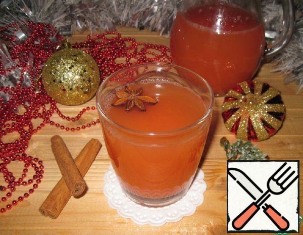 Hot Apple-Grapefruit Drink Recipe