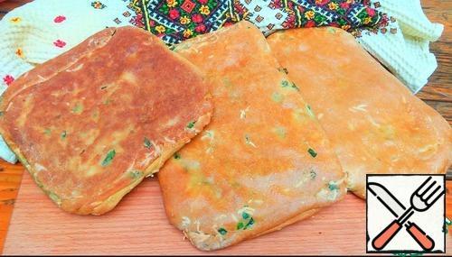 Very tasty tortillas are ready!