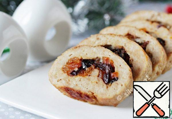 Turkey Roll with Dried Fruit Recipe