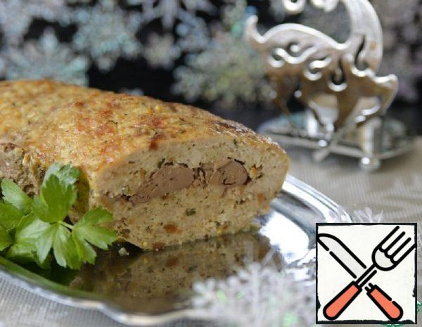 Chicken Roll with Liver Recipe
