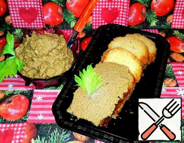 Vegetable Pate with Chicken and Mushrooms Recipe