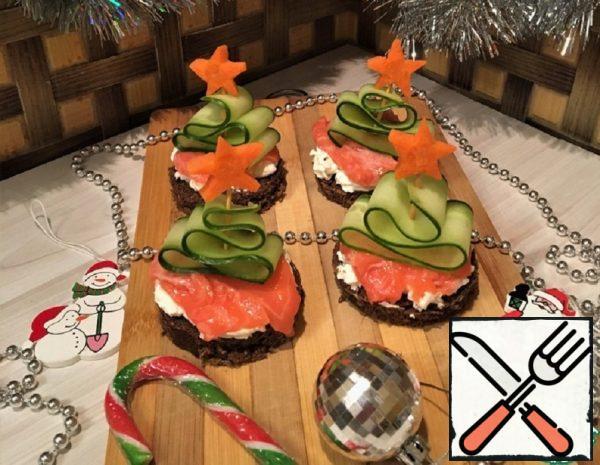 """Snack """"Christmas Tree"""" Recipe"""