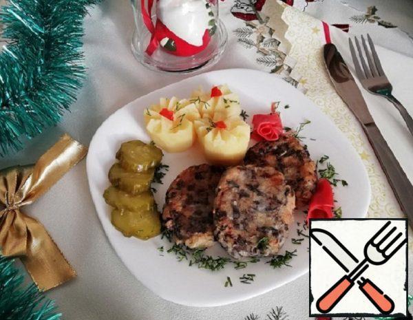 Christmas Mushroom Cutlets Recipe