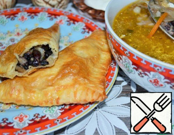 Puff Pastry with Beans Recipe