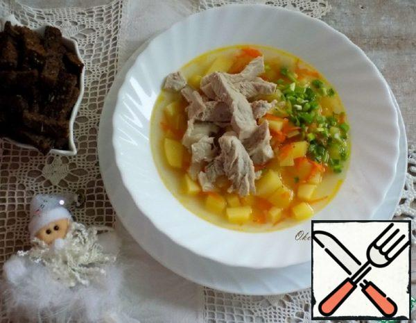 Potato Soup with Pork Recipe