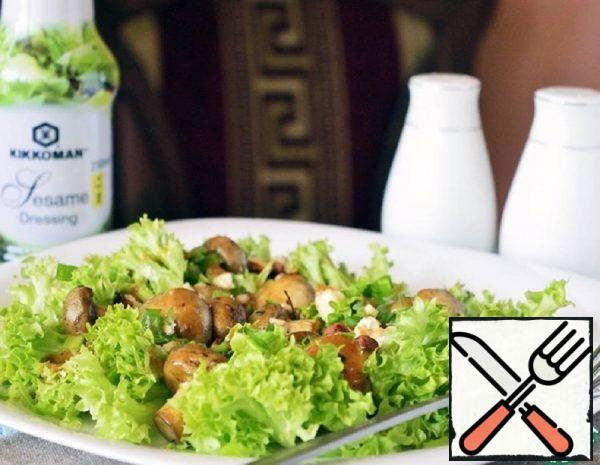 Warm Salad with Mushrooms Recipe