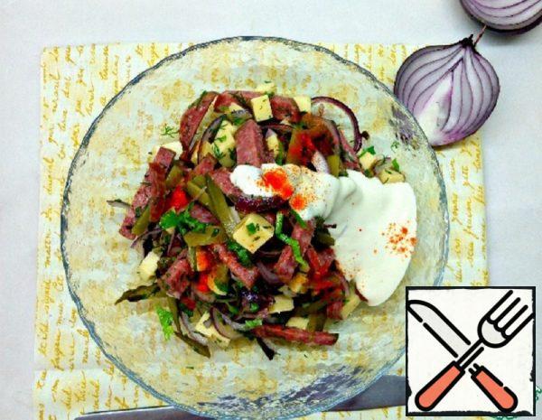 """Salad """"Old Munich"""" Recipe"""