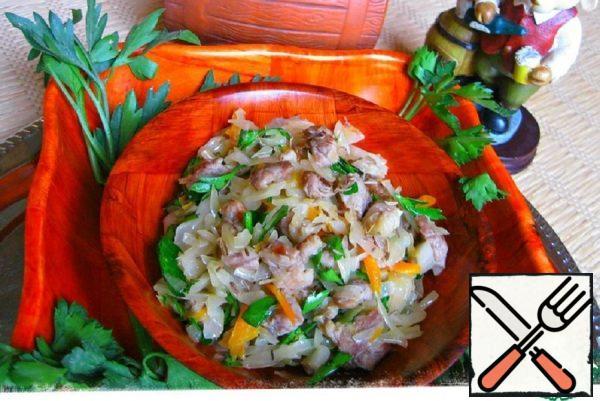 "Sauerkraut Salad ""Bavarian"" Recipe"