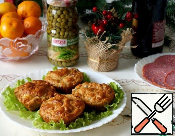 Muffins with Peas Recipe