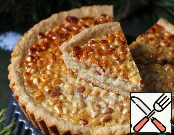 Tart with Peanuts and Condensed Milk Recipe