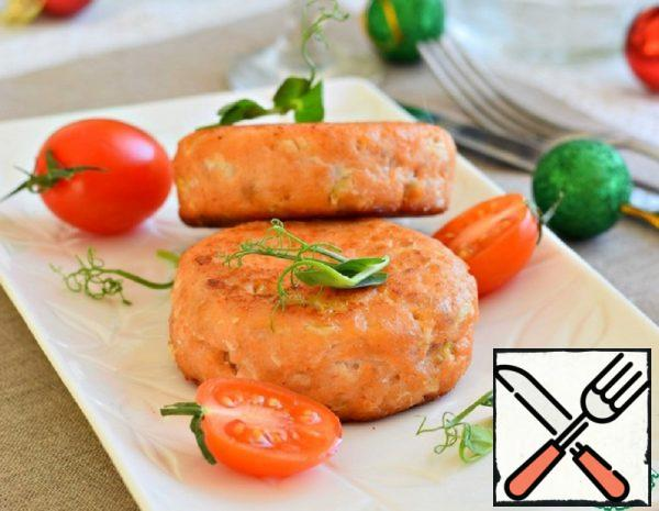 Fish Cutlets with Shrimps Recipe