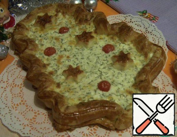 """Snack Pie """"Christmas Tree"""" Recipe"""