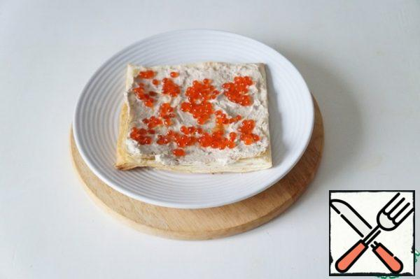 Lay out some caviar.