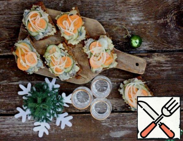 Lampreys in Marinade with Vegetables Recipe
